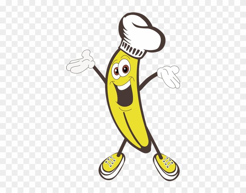 Top Banana Cooking Valentine's Day Fun - Banana Man Clip Art #91317
