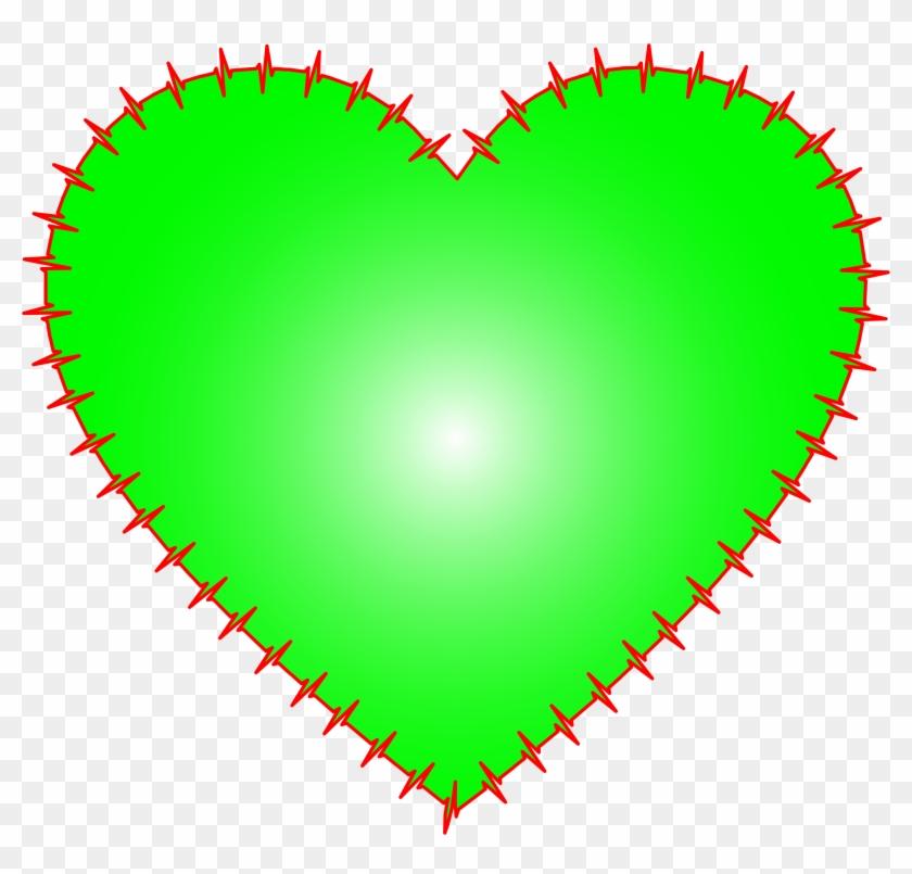 Big Image - Green Heart Pdf #91400