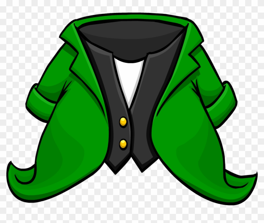 Leprechaun Tuxedo Clothing Icon Id 291 - Leprechaun Suit Transparent #91413