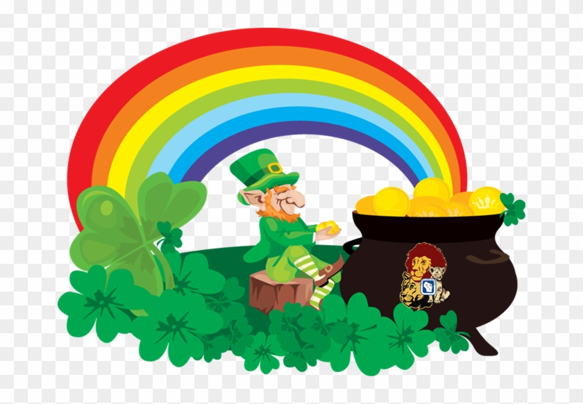 Leprechaun - Rainbow And Pot Of Gold #91421