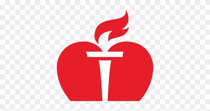 Logo Heart - American Heart Association Symbol #91500