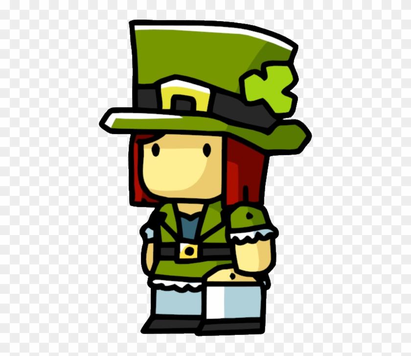 Leprechaun - Scribblenauts Wiki - Leprechaun Female #91534