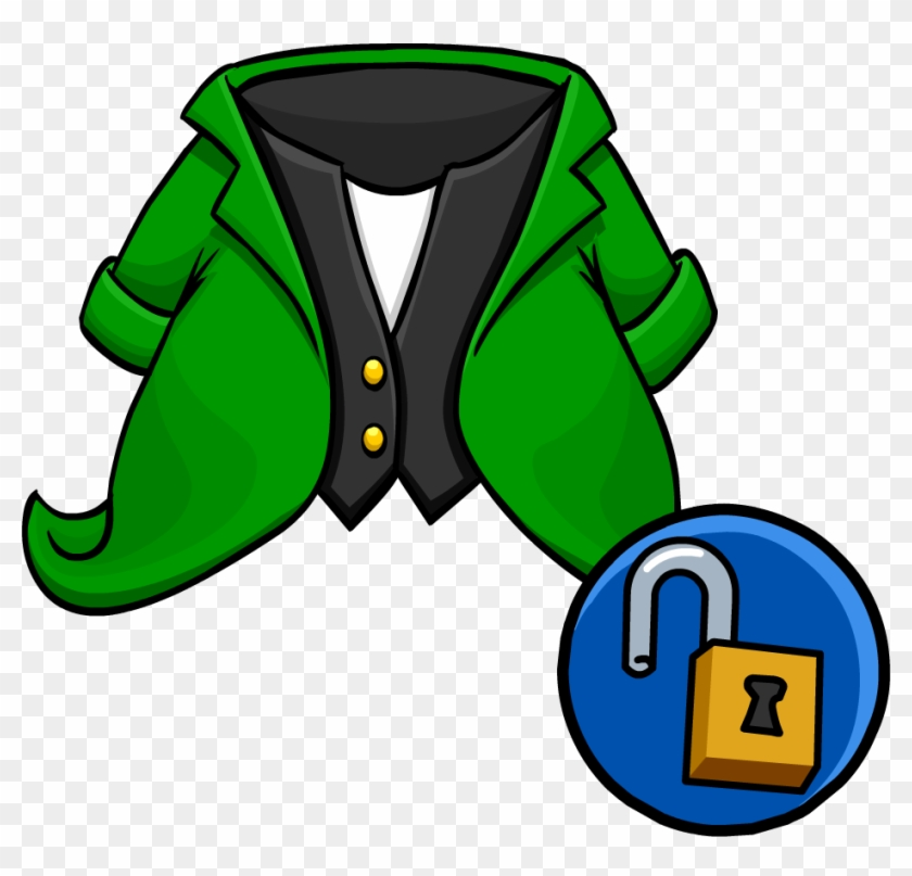 Leprechaun Tuxedo Unlockable Icon - Icon #91541