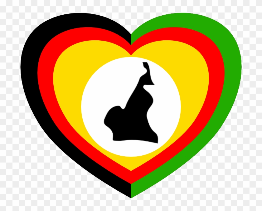 Heart For Cameroon - Cameroon Heart #91544