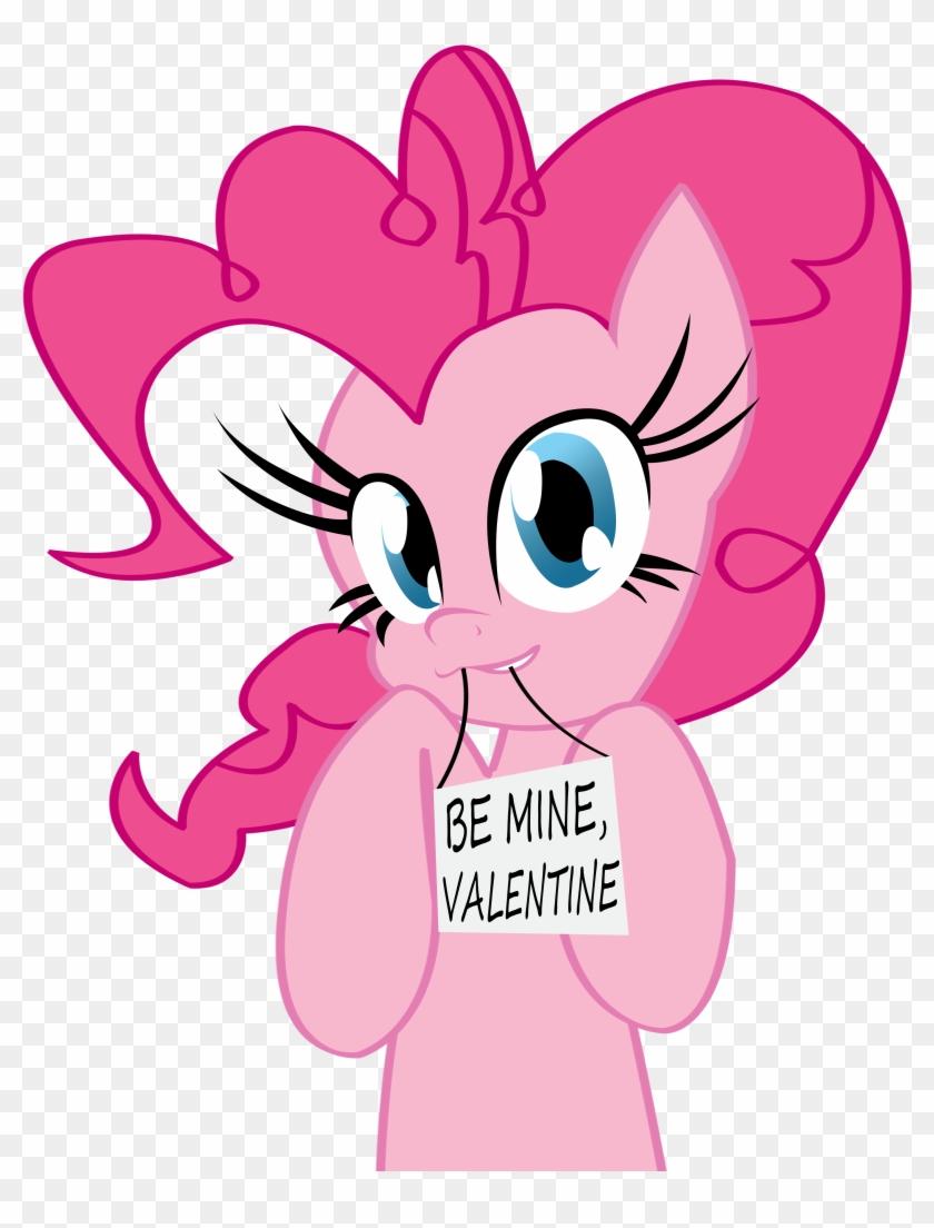 Pies Clipart Mine - Pinkie Pie Valentines Day #91553