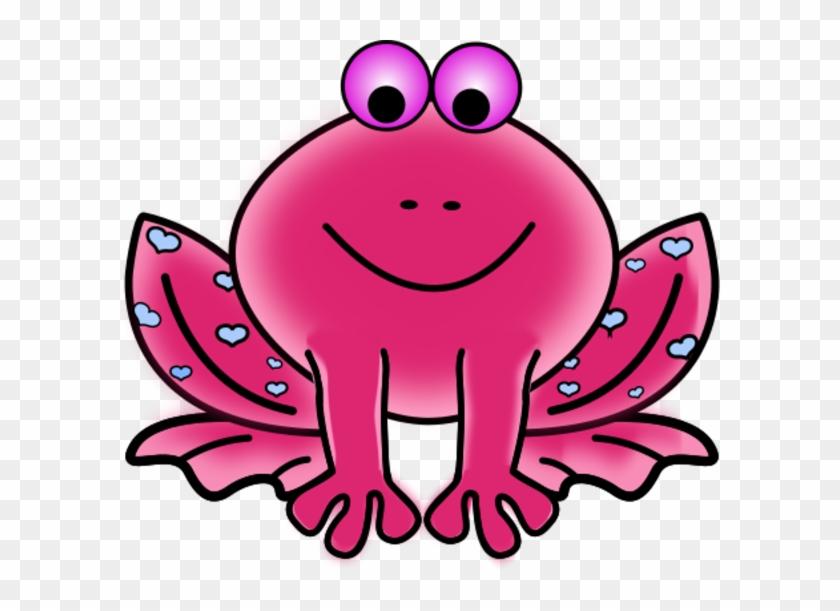 Free Valentine Clip Art - Orange Frog Clip Art #91592