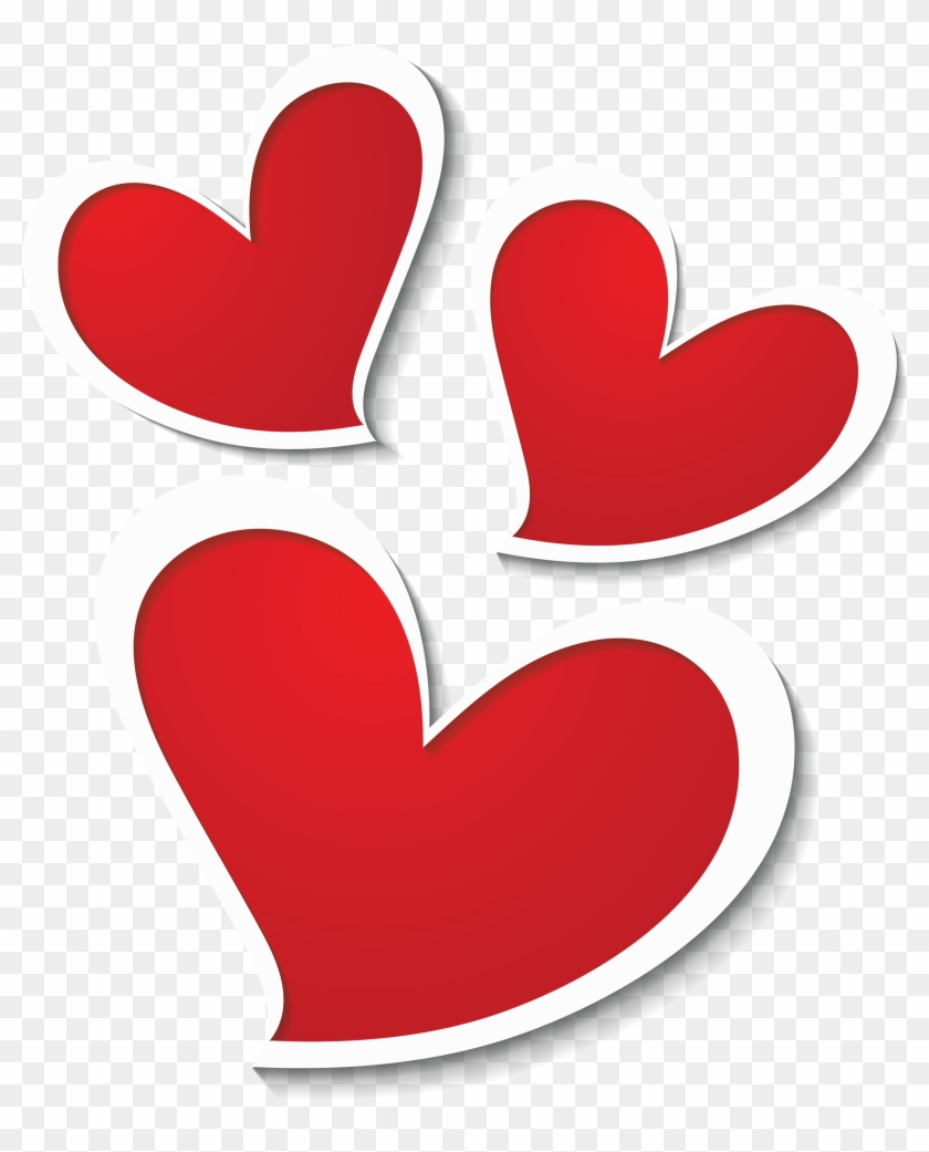 Three Hearts Decor Png Clipart Picture - Good Night My Sweetheart #91619