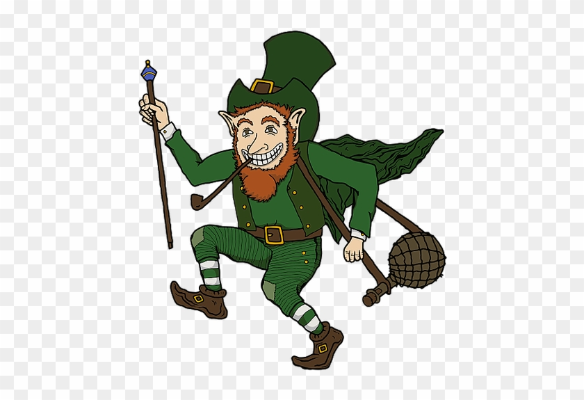 The Leapin' Leprechaun Is Chattanooga's Premier Irish - Traditional Irish Leprechaun #91629