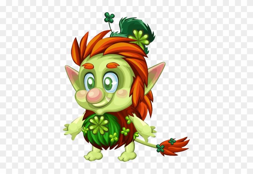Leprechaun-baby - Leprechaunin Png Transparent #91650