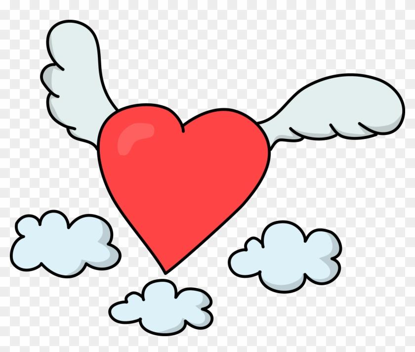 Free Flying Heart Love High Resolution Clip Art - Roman Catholic Diocese Of Trenton #91737