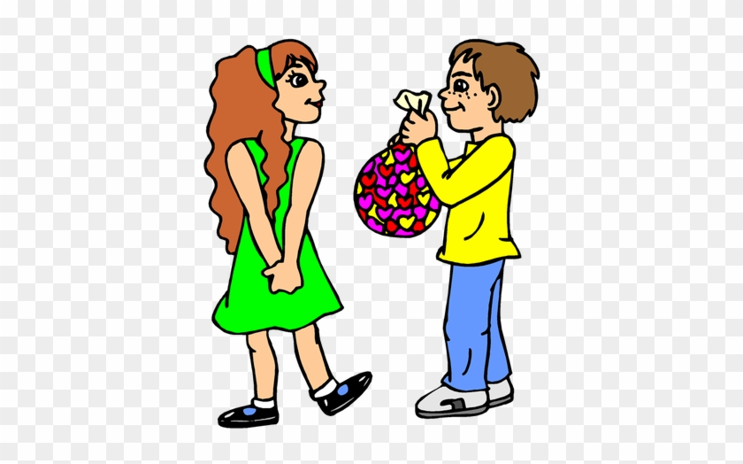 Valentine's Day Free Clip Art - Valentines Day Coloring Pages #91837