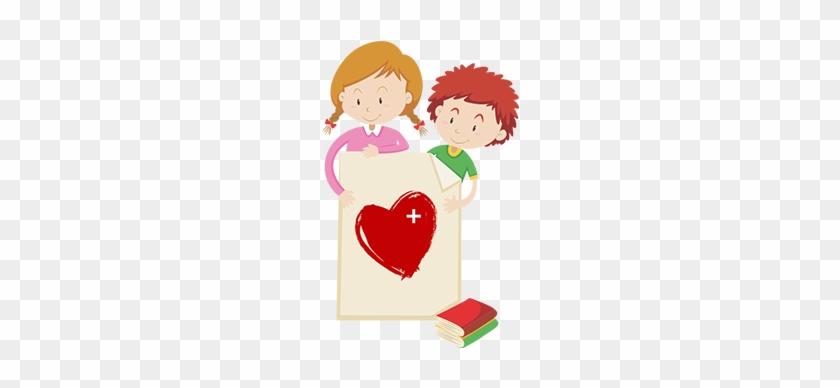 Health And Insurance - Children Border Design #91853
