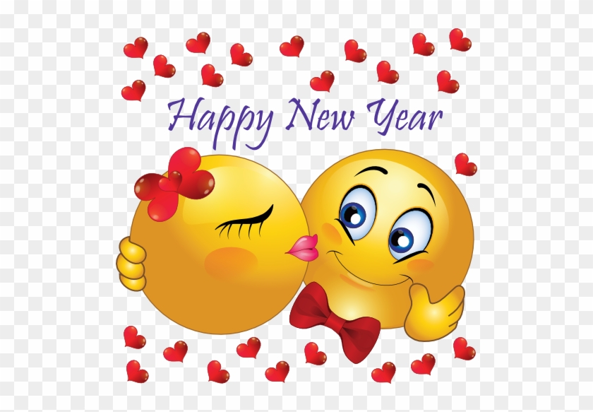 New Year Clipart Emoji - Happy New Year Cute #91924