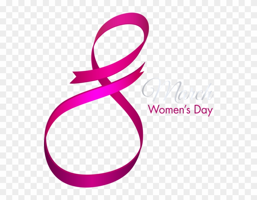 Happy March 8 Womens Day Png Clip Art Image - Happy Women's Day Png #91971