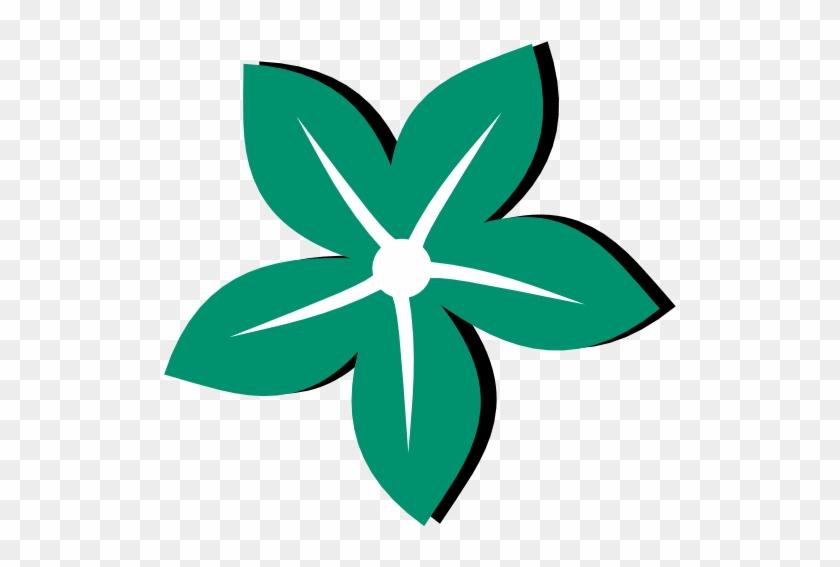 Flower Flora 121 Colour Color Irish Green Ireland 555px - St Flora Of Beaulieu Symbol #92043