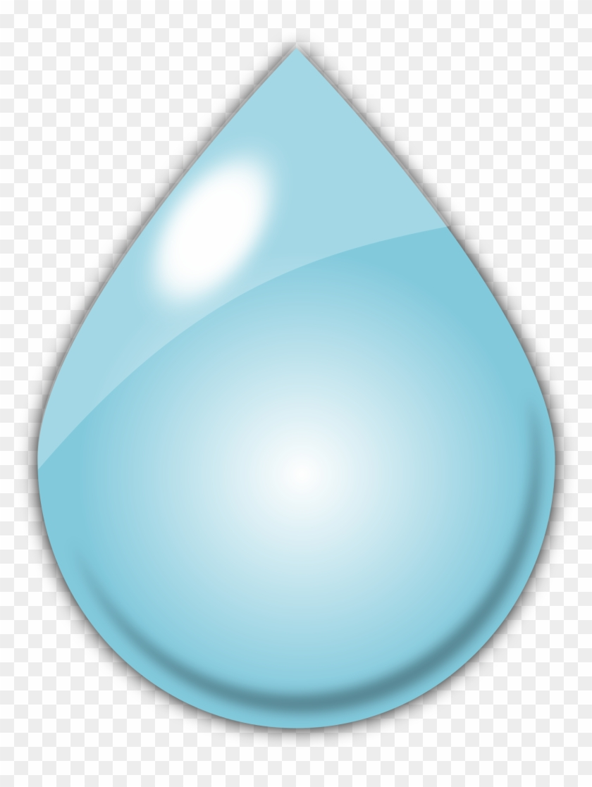 Raindrop Free Download Clip Art On Clipart Library - Large Rain Drop #92107