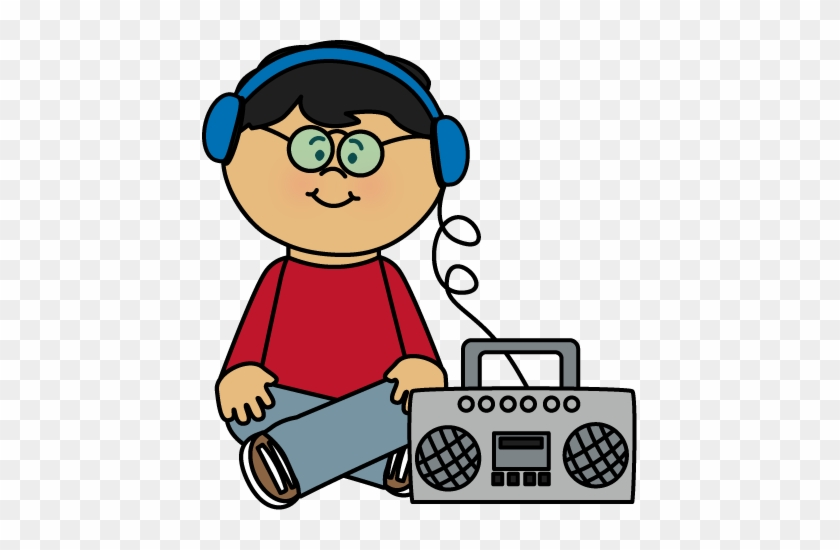 Clip Arts Related To - Listening To Music Clipart #92150