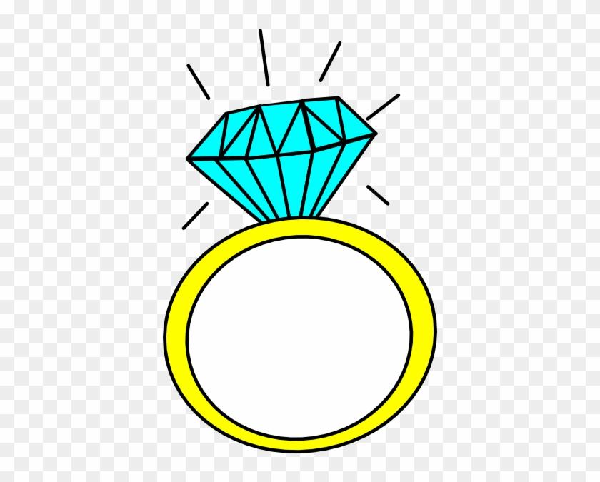 Ring Clip Art At Clker Com Vector Online Royalty Free - Ring Cartoon #92151