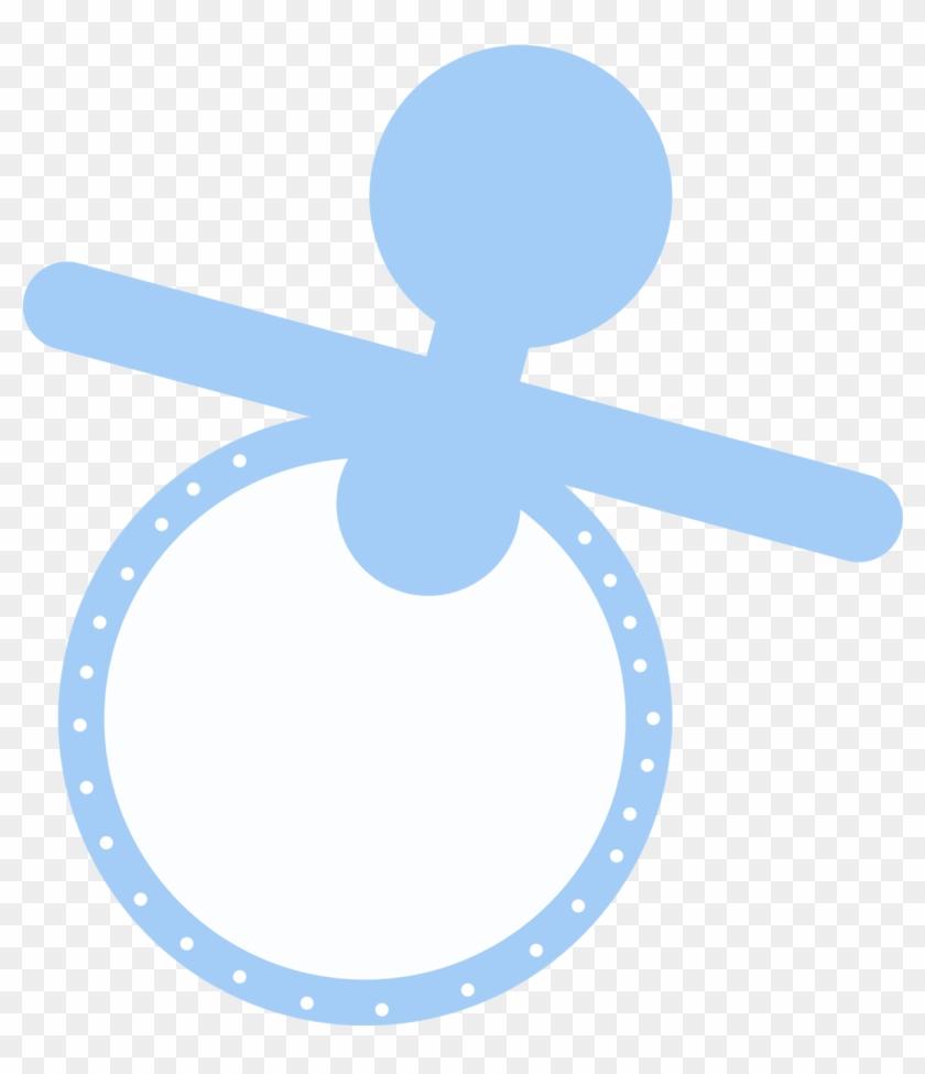 Blue Pacifier Clipart - Blue Pacifier Clip Art #92177