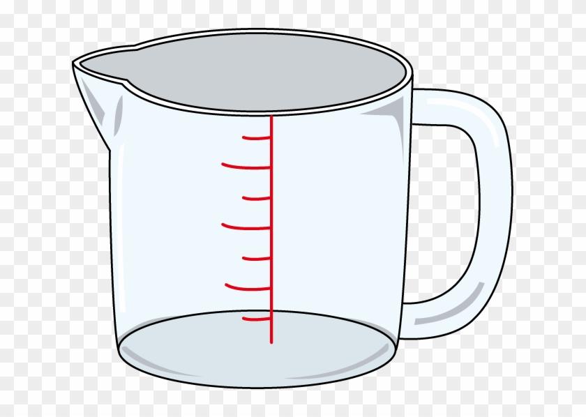 Measuring Cup Clip Art - Measuring Cup Clip Art Png #92186