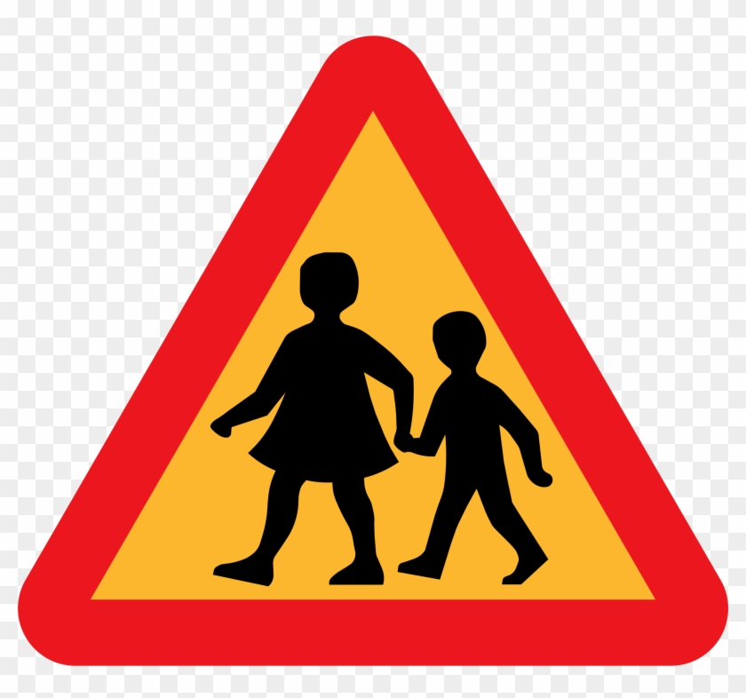 Road Safety Sign School #92207