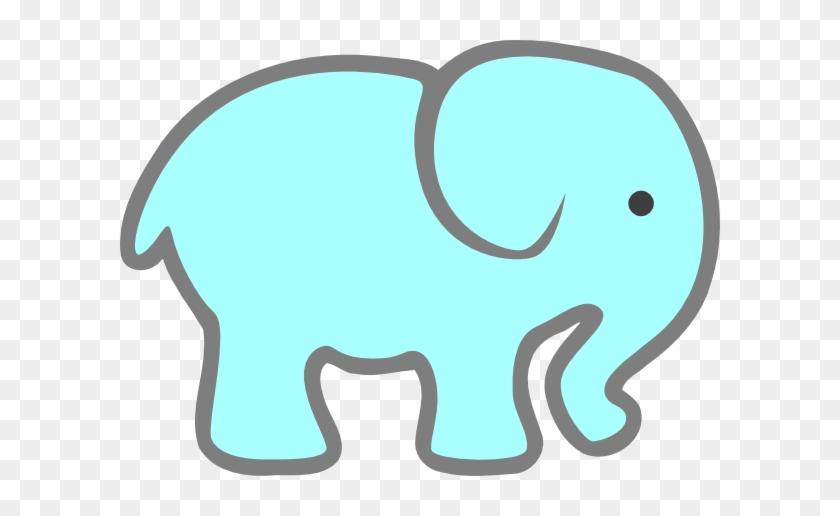 Printable Baby Elephant Template #92259
