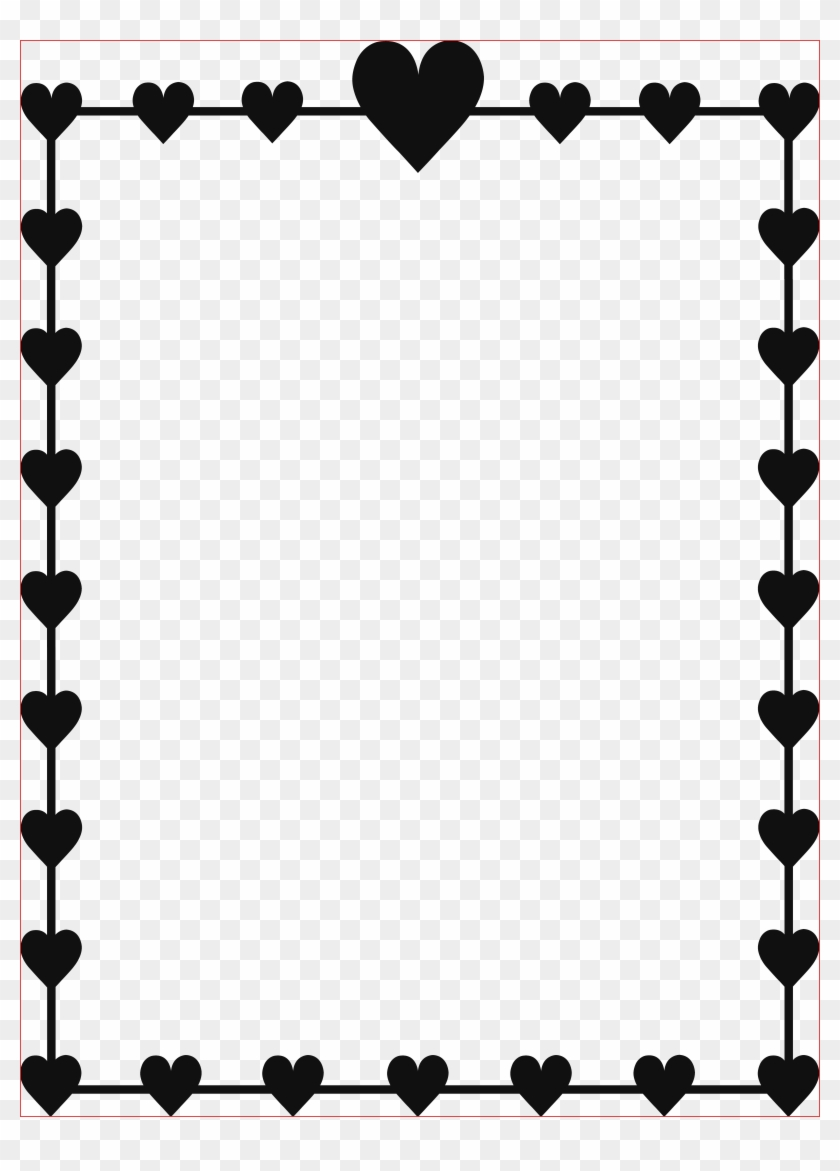 Black Border Png Black Frame With Darker Yellow Gold - Left Right Valentine Game #92312
