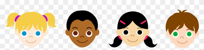 Image Result For Free Clipart Childrens Faces - Kids Face Clipart #92306