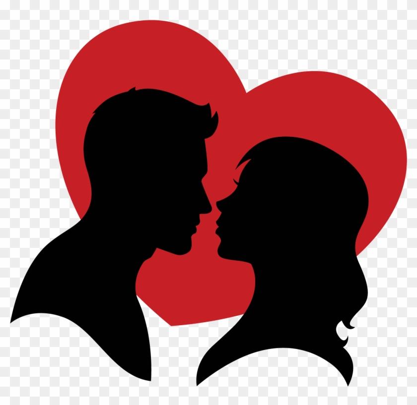 Love Heart Clip Art - Love Vector Png #92378