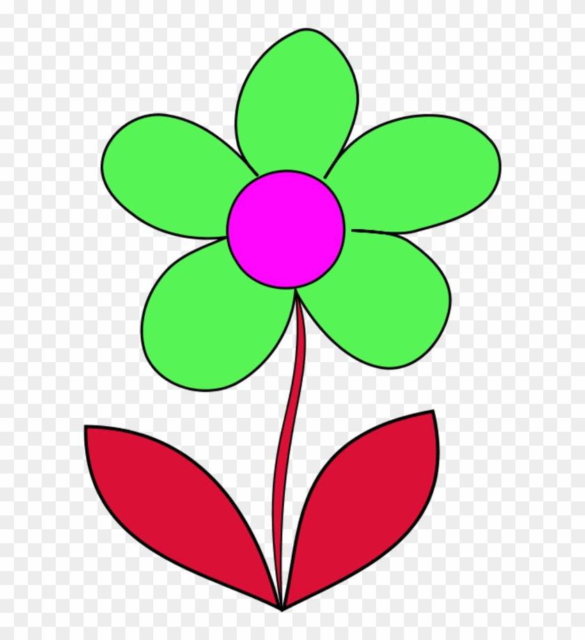 Simple Flower Clip Art Jlqlif Clipart - Clip Art #92394