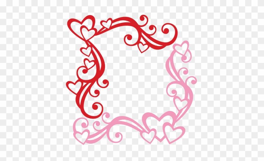 Valentine Flourishes Svg Scrapbook Cut File Cute Clipart - Free Flourish Corners Svg #92454