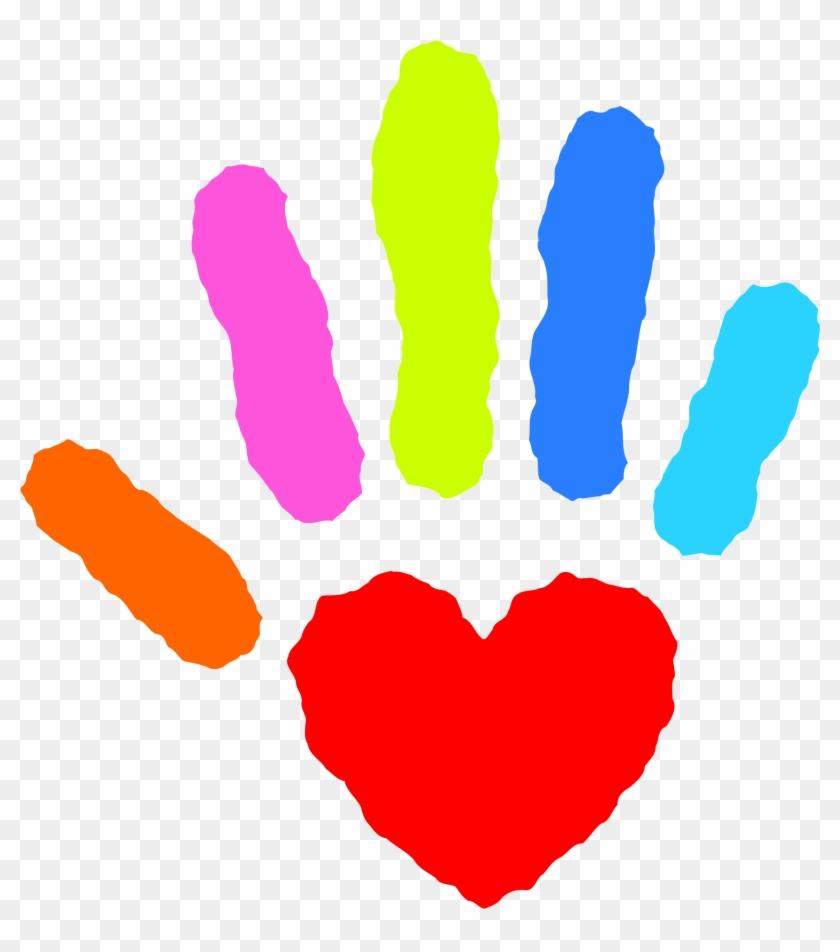 Clipart Free Heart With Hands File Hand Nevit Fractalized - Guidance Services #92461