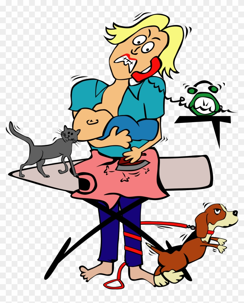 Big Image - Funny Mother's Day Clip Art #92529
