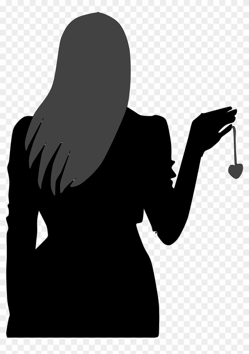 Big Image - Woman's Silhouette #92558