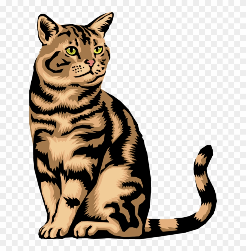 Farm Cat Clipart - Animals That Does Not Lay Eggs #92566