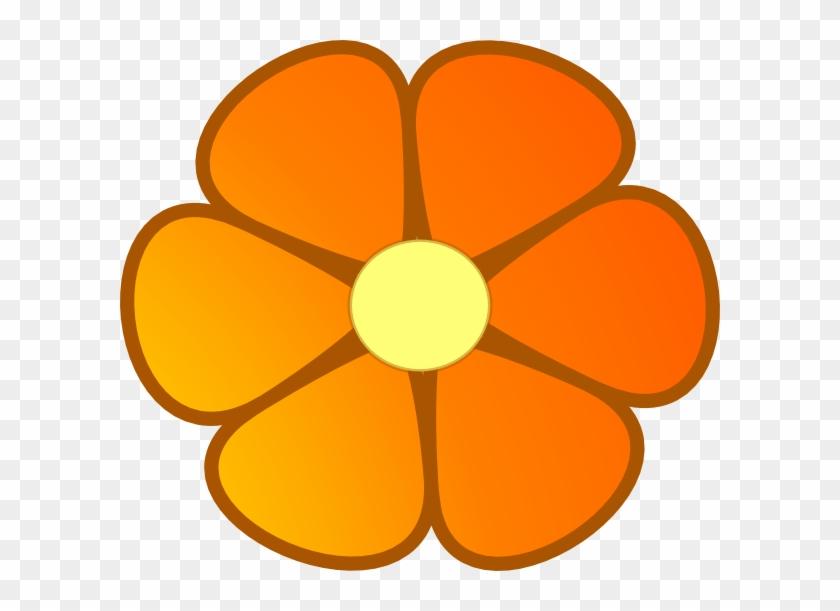 Orange Blossom Clipart - Orange Flowers Clipart Png #92581