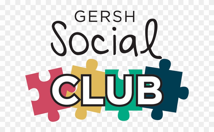 Gersh Social Club Is A One Of A Kind After School Program - Social Club Clipart #92623