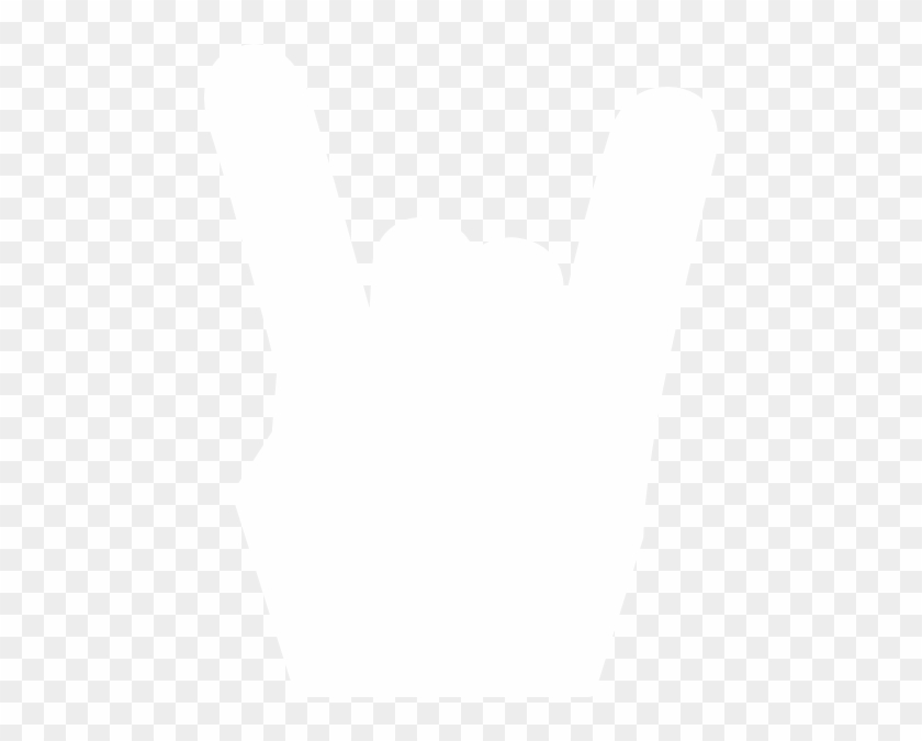 Hands Silhouette White Png #92745