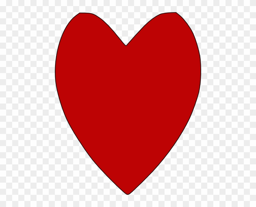 Rustic Heart Clip Art Pictures To Pin On Pinterest - Red Heart Transparent Background #92847