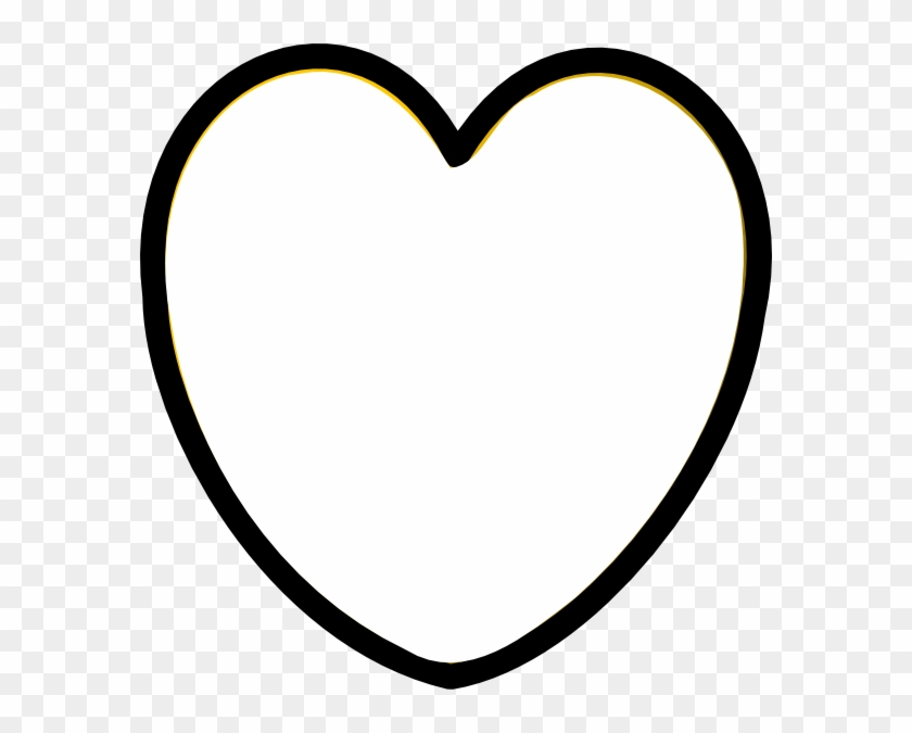 Heart Black And White Clip Art Vector Clip Art Online - Heart Icon Png White #92862