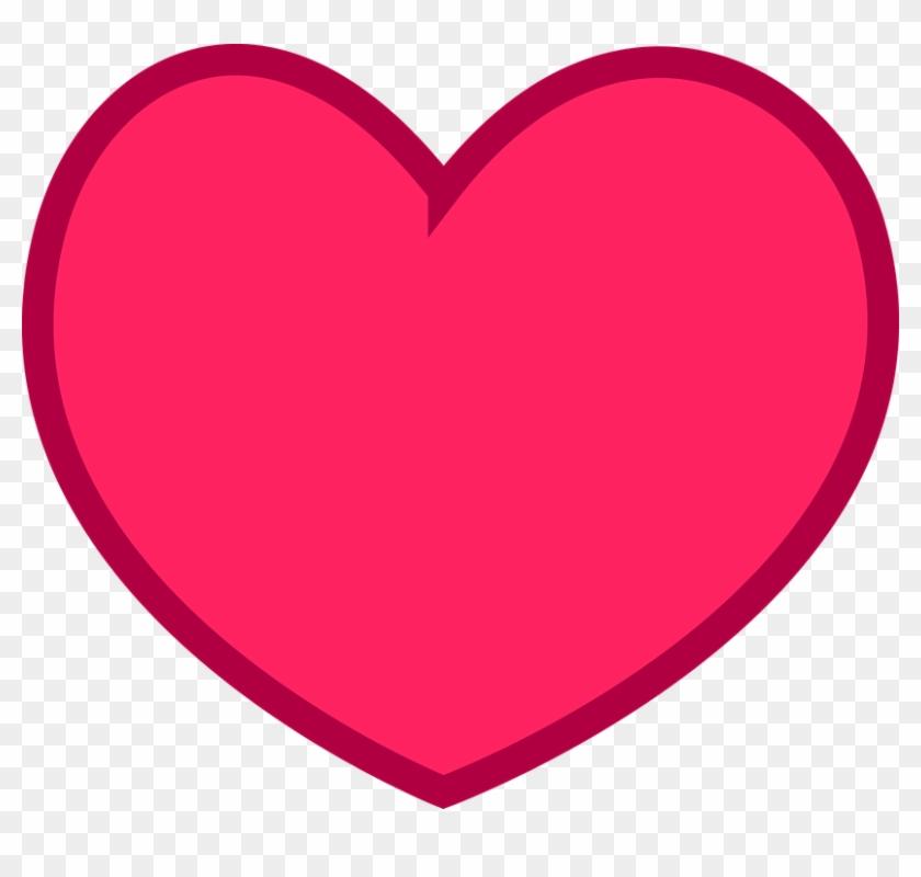 Heart Clipart Simple - Corpo Forestale Dello Stato #92994