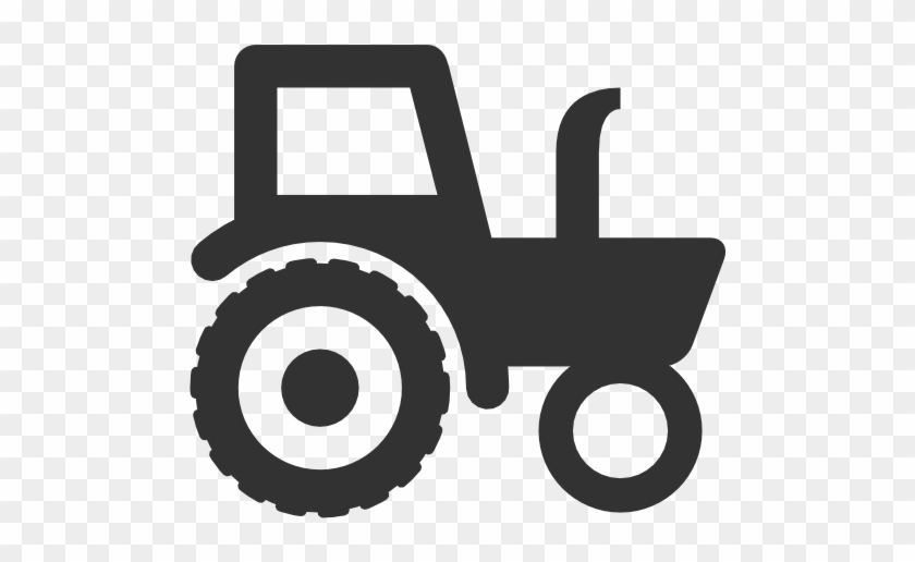 Logo - Black And White Tractor #93068
