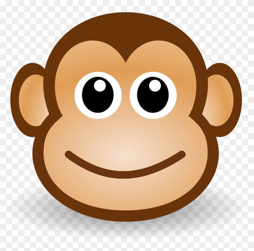 Free Funny Monkey Face - Clipart Monkey Face #93085