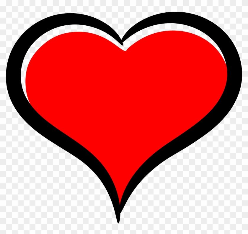Red Hearth - Cartoon Heart #93158