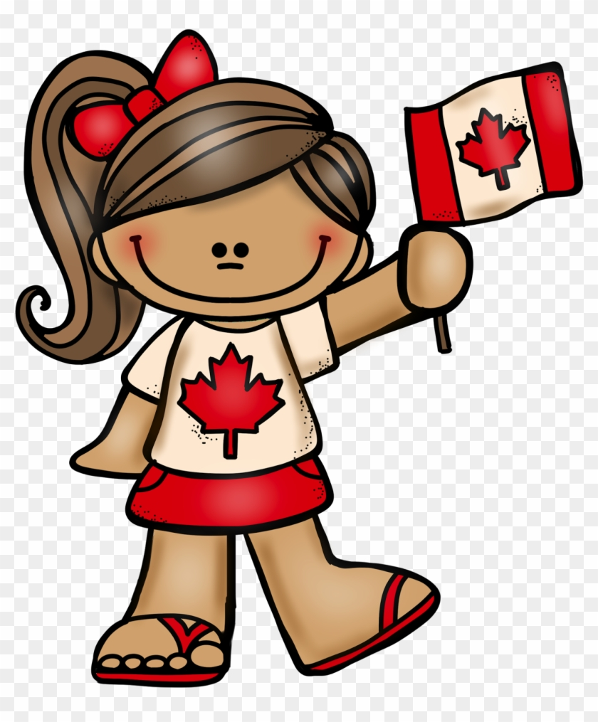 July 1st Is Canada Day Here Is A Canadian Boy And Girl - Red And White Day #93232