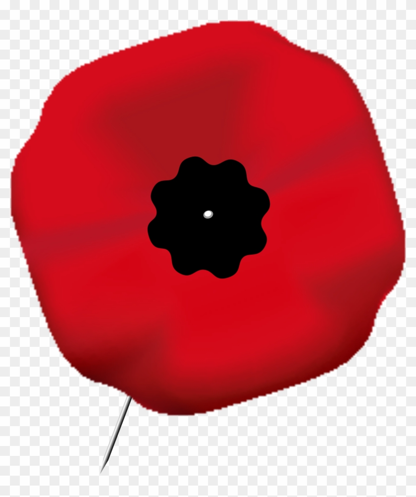 Open - Remembrance Poppy Transparent Background #93234