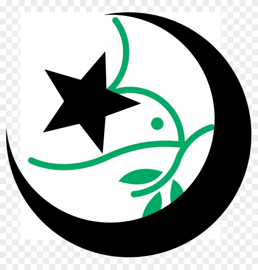 Mennonites, Muslims And A Bad Internet Joke - Star And Crescent Icon #93250