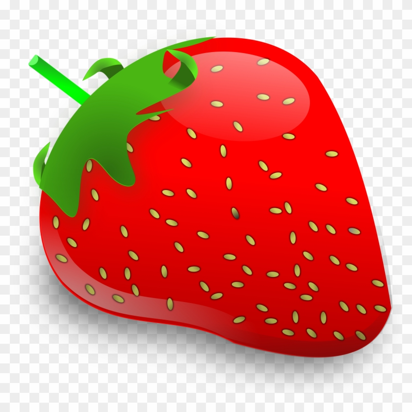 Strawberry - Strawberry Fruit Clipart #93255