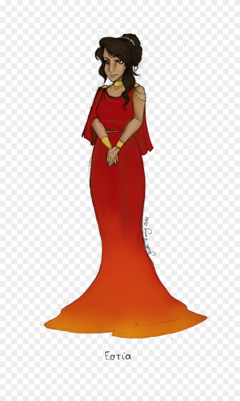 Mythology Clipart Hestia - Ancient Greek Goddess Hestia #93258
