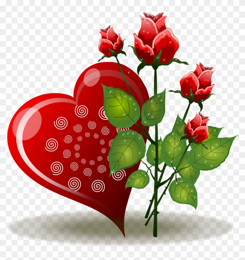 E Rosas - Love Red Roses Png #93266